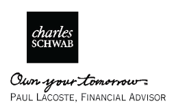 Paul Lacoste, Charles Schwab Consultant